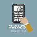 Calculator vector illustration eps Stock Photography