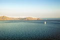 Caldera at the dawn, Fira, Santorini Stock Photos