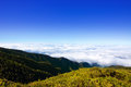 Caldera de Taburiente sea of clouds La Palma Stock Photos