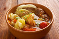 Caldo е res traditional mexican beef soup Stock Photography