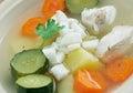 Caldo de pollo Royalty Free Stock Photo