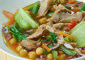 Caldo Tlalpeno Royalty Free Stock Photo