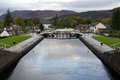 Caledonian canal fort augustus at you can also enjoy a visit to the heritage centre which details the history of the Stock Photo