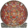 Calendário maia Fotografia de Stock