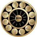 CAlendar 2010 Royalty Free Stock Image