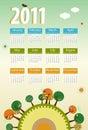 Calendar 2011 Stock Photos
