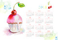 Calendar for 2013 Royalty Free Stock Image