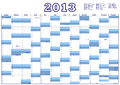 Calendar For 2013 With Federal...