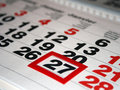 Calendar Royaltyfria Bilder