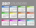 2017 Calendar Backgronds.