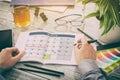 Calendar Events Plan Planner Organization