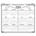 Calendar grid blank template file Stock Image