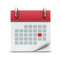 Calendar icon Stock Photography
