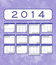 Calendar notes a annual template for your design and projects on black background the months are divided into tables weeks start Royalty Free Stock Image