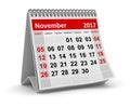 Calendar - November 2017