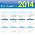 Calendar 2014 Popular Template...