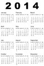 Calendar vector illustration of Royalty Free Stock Photos