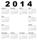 Calendar vector illustration of Stock Images