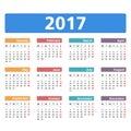 2017kalendář