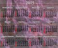 Calendar For 2015 Year In Engl...