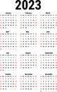Calendar for 2023