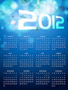 Calender design Stock Images