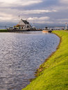 Calendonian canal scotland the clachnaharry sea lock on the near inverness uk Stock Photo