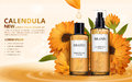 Calendula skin toner ads