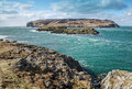 Calf of man mainland view the Royalty Free Stock Photos