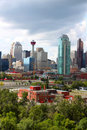 Calgary office buildings Stock Photo