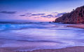 California beach sunset laguna Stock Image