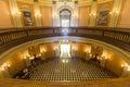 California capitol rotunda lobby jsacramento july stately inside s historic state builing in sacramento Royalty Free Stock Images