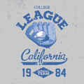 California College League Poster