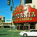 California Hotel and Casino in Las Vegas Royalty Free Stock Image