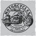 California Motorcycles Poster