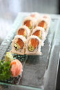 California roll Stock Photography