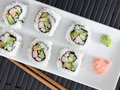 California rolls Royalty Free Stock Photography