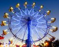 California State Fair Ferris Wheel ride Royalty Free Stock Photo
