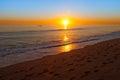 California Sunset Royalty Free Stock Photo