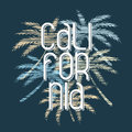 California Typography Poster. ...