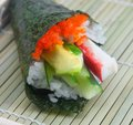 Californian Roll Royalty Free Stock Photo