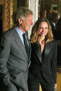 Calista flockhart harrison ford and at the th annual humanitarian awards beverly hills hotel beverly hills ca Royalty Free Stock Photography