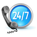 Call-center icon Royalty Free Stock Photography