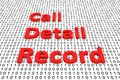 Call detail record
