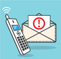 Call now Important Letter Royalty Free Stock Photo
