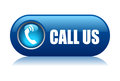 Call us button Royalty Free Stock Photo