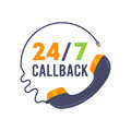 Callback icon for Web and Mobile