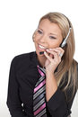 Callcenter Agent Royalty Free Stock Image