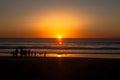 Callifornia sunset in San Diego Royalty Free Stock Photo