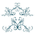 Calligraphic design element vintage pattern vector illustration Stock Photo